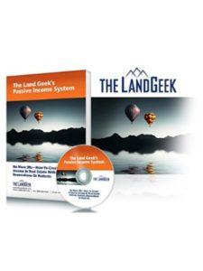 Mark Podolsky AKA The Land Geek    passive income systems