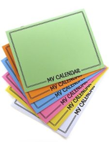 Notions - In Network personalized photo  desk pad calendars