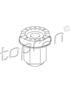 TOPRAN peugeot 206  rear axles