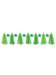 Unique plastic  tassel garlands