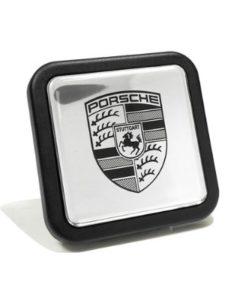 Porsche trailer hitch cover