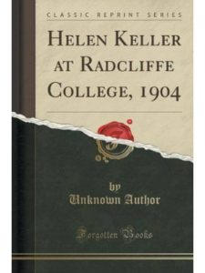 Forgotten Books radcliffe college  helen kellers