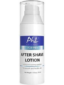 PhL Naturals razor burn  electric razors
