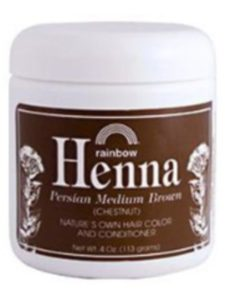 Rainbow Research recipe  henna hair colors