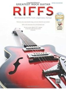 Alfred Music riff  guitar tabs