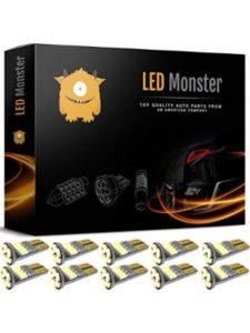 LED Monster route  flight trackers