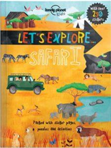 Lonely Planet Kids safari  photicular books