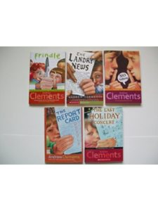 Atheneum (1998, 2000, 2001); Scholastic (2006, 2013)    school story andrew clement
