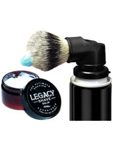 Legacy Shave    shave cut healing gels
