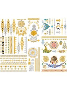iSeaFly simple hand  henna designs