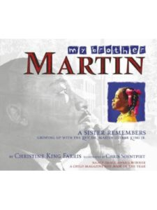 AladdinPaperbacks sister  martin luther kings