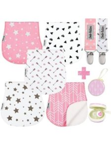 Dodo Babies size  baby burp cloths