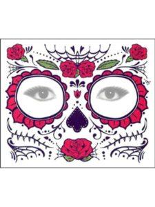 OUFENLI skull tattoo stencil
