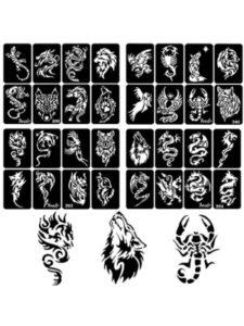 xmasir skull tattoo stencil