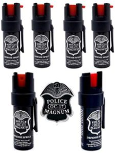 POLICE MAGNUM strongest  bear sprays