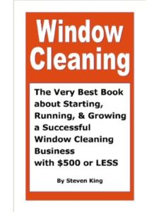 Steven King    successful cleaning businesses