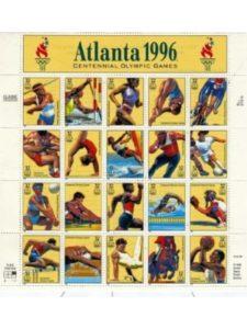 USPS    summer olympics helds