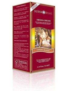 Surya Henna Golden Blonde Cream 2.31 Oz. 2 Pack henna cream