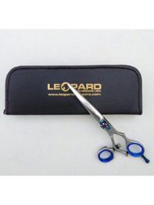 Leopard International Mfg Co swivel thumb hairdressing scissors
