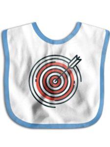 BB-care target  burp cloths