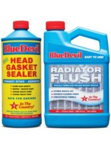 BlueDevil Products test  engine flushes