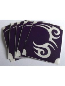 BHD Vinyls tribal tattoo stencil