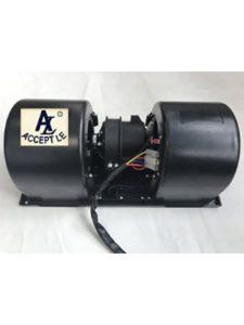 Accept blower motor switch
