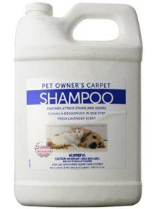 Kirby vacuum carpet  shampoos