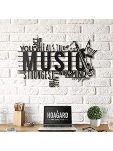 Hoagard wall art  metal musics