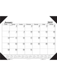 House of Doolittle weekly 2018  desk pad calendars