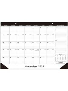 Nekmit Compact weekly 2018  desk pad calendars