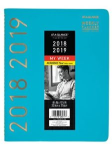 ACCO Brands    weekly planner academic years