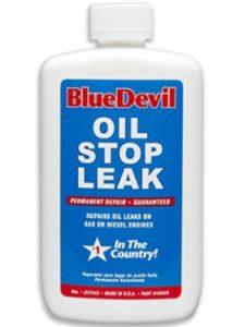 Blue Devil white shepherd  oil stop leaks
