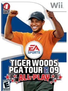 Electronic Arts wii  tiger woods