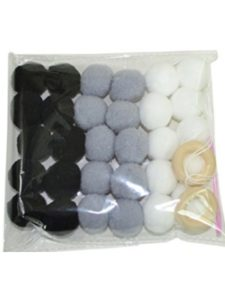 Floralby wool  tassel garlands