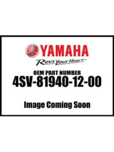 Yamaha starter relay