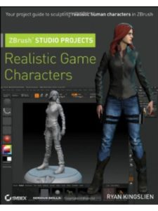 Sybex zbrush  character animations
