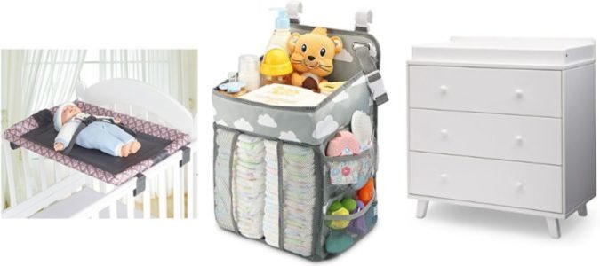 Top 7 Best Crib Changing Tables